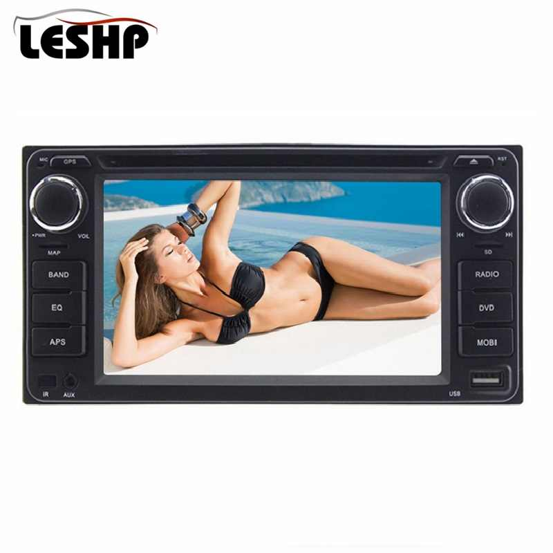 6.2 inch Double Din Touch Screen Original size Car DVD Support Steering wheel control Function