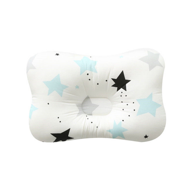 Pudcoco  Toddler Infant Newborn Baby Girl Boy Anti Roll Cotton Cushion  Prevent Flat Head Positioner Pillow 2019