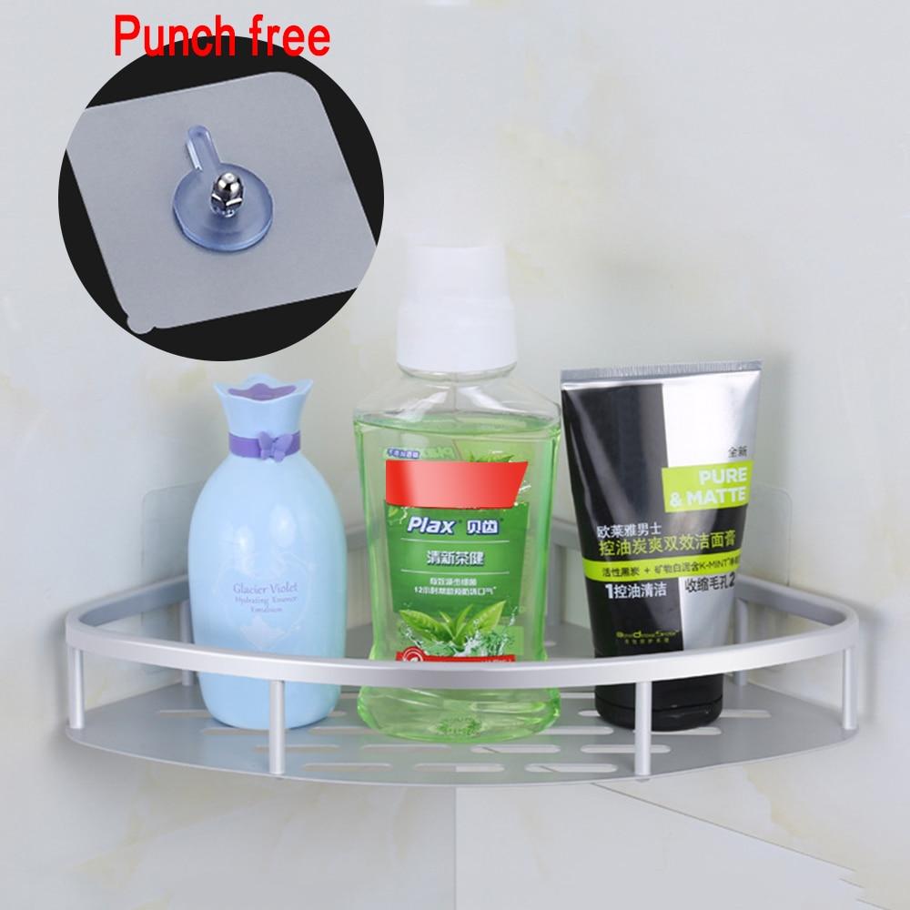 Permalink to Bathroom Shelf Qrganizer Snap Up Corner Shelf Toilet Bathroom Vanity Tripod Storage Rack Suction Cup Wall Hanging Shampoo Holder