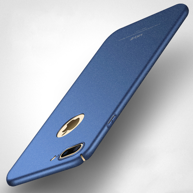 100% Original MSVII luxury Case for apple iphone 7 (4.7) and for iphone 7 plus (5.5) hard PC simple and frosted Back cover
