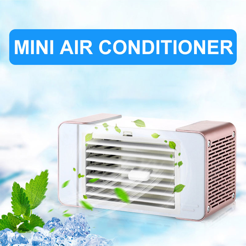2019 Drop Shpping Mini Luftkühler Fan Tragbare Mode Büro Klimaanlage Für Befeuchtung