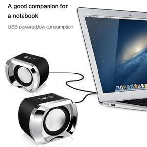 Image 3 - Bonks DX12 Mini taşınabilir USB2.0 Subwoofer küçük hoparlör 3.5mm ses fişi ve USB priz için masaüstü bilgisayar dizüstü bilgisayar MP3 telefon