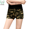 LIKEPINK 2017 Fashion Shorts Women Military Camouflage Print Summer Sexy Short Feminino Pantaloon Femme Rivet ladies shorts S~XL