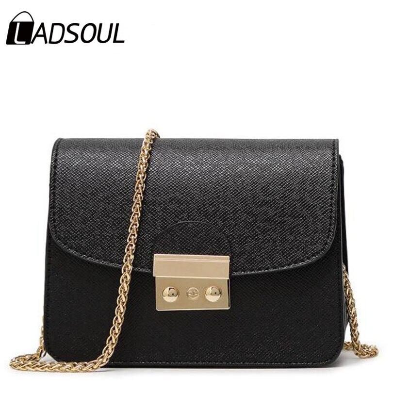 Ladsoul новый небольшой Для женщин сумка клатч Сумки хорошее качество мини сумка Для женщин Сумки через плечо Лидер продаж