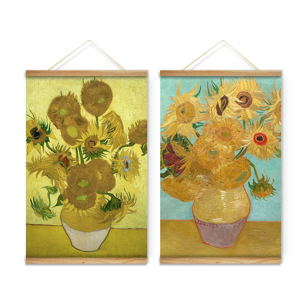 Still Life Sunflowers Vase Van Gogh Decoration Wall Art Pictures ...