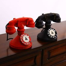 Groceries Home Decorations Vintage Old Craft Ornaments Vintage Telephone c