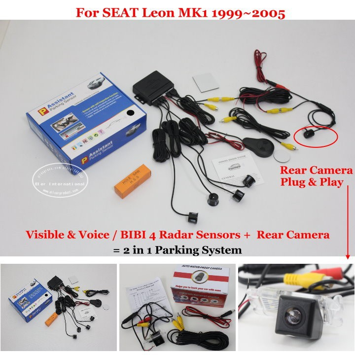 SEAT Leon MK1 1999~2005 parking system