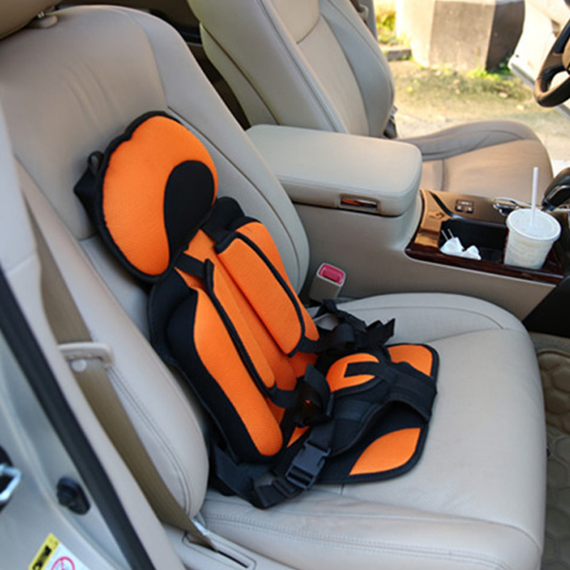 Convertible Car Seat 3-12 Years Old Portable&comfortable Baby Car Seat Cushionsafety Stroller Sleeping Belt Kids Safety Car Seat