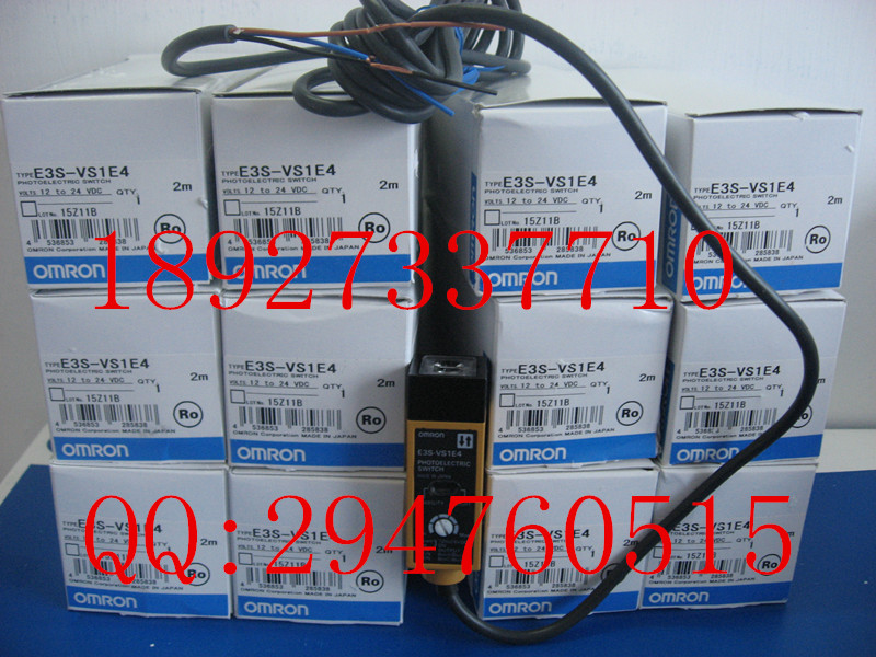 [ZOB] 100% new original OMRON Omron photoelectric switch E3S-VS1E4 / E3ZM-V61 2M substitute new and original e3t st21 omron photoelectric switch 2m 12 24vdc photoelectric sensor