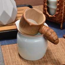 PINNY Natural Taste Tea Infusers Japanese Style Leaf Spice Filter Ceremony Accessories Bamboo Environment Strainers