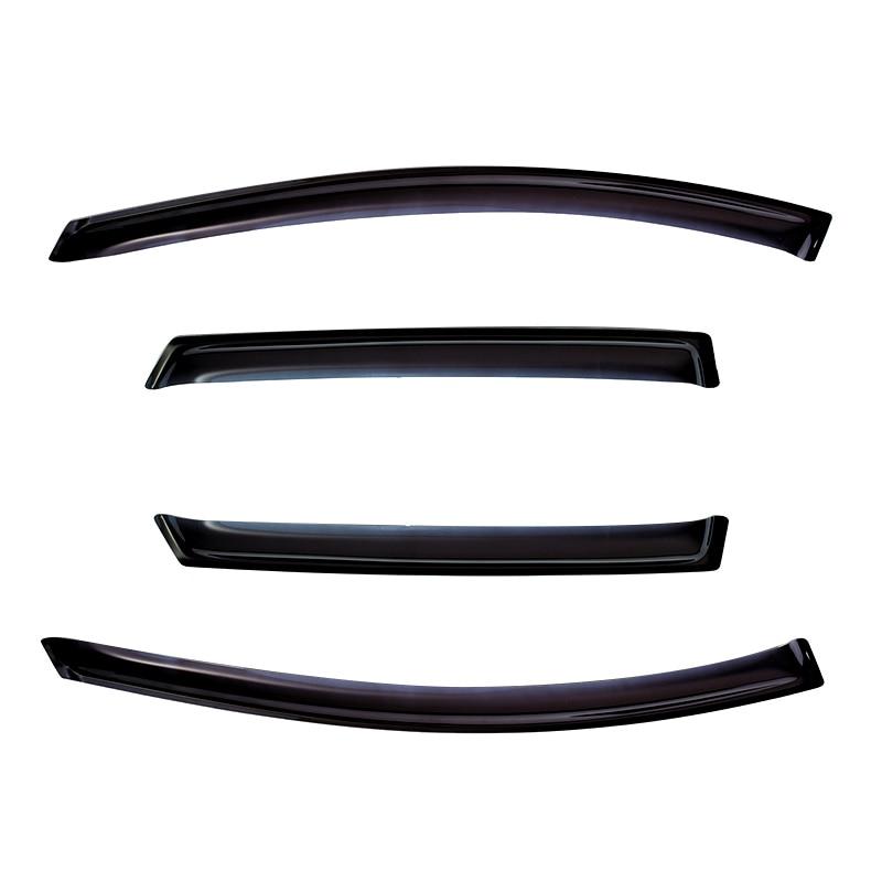 цена на Deflectors case for Ford EcoSport 2014-1set \ 4 PCs Styling Wind Window deflector guard Auto vent visor rain cover