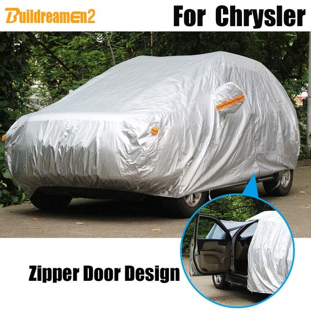Buildreamen2 Waterproof Car Cover Outdoor Sun Rain Snow Resistant Cover For Chrysler Aspen PT Cruiser Pacifica Town & Country 1