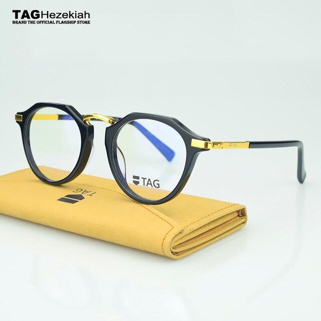 b2a2858678 2017Retro Full frame glasses frame computer prescription eyewear monturas  de lentes mujer gafas de lectura monturas