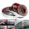Chrome Decoración de Gaza Engomada del coche Para Opel Astra H J G Insignia Mokka Corsa D Vectra Zafira C Renault Laguna Megane 2 3 Plumero Clio