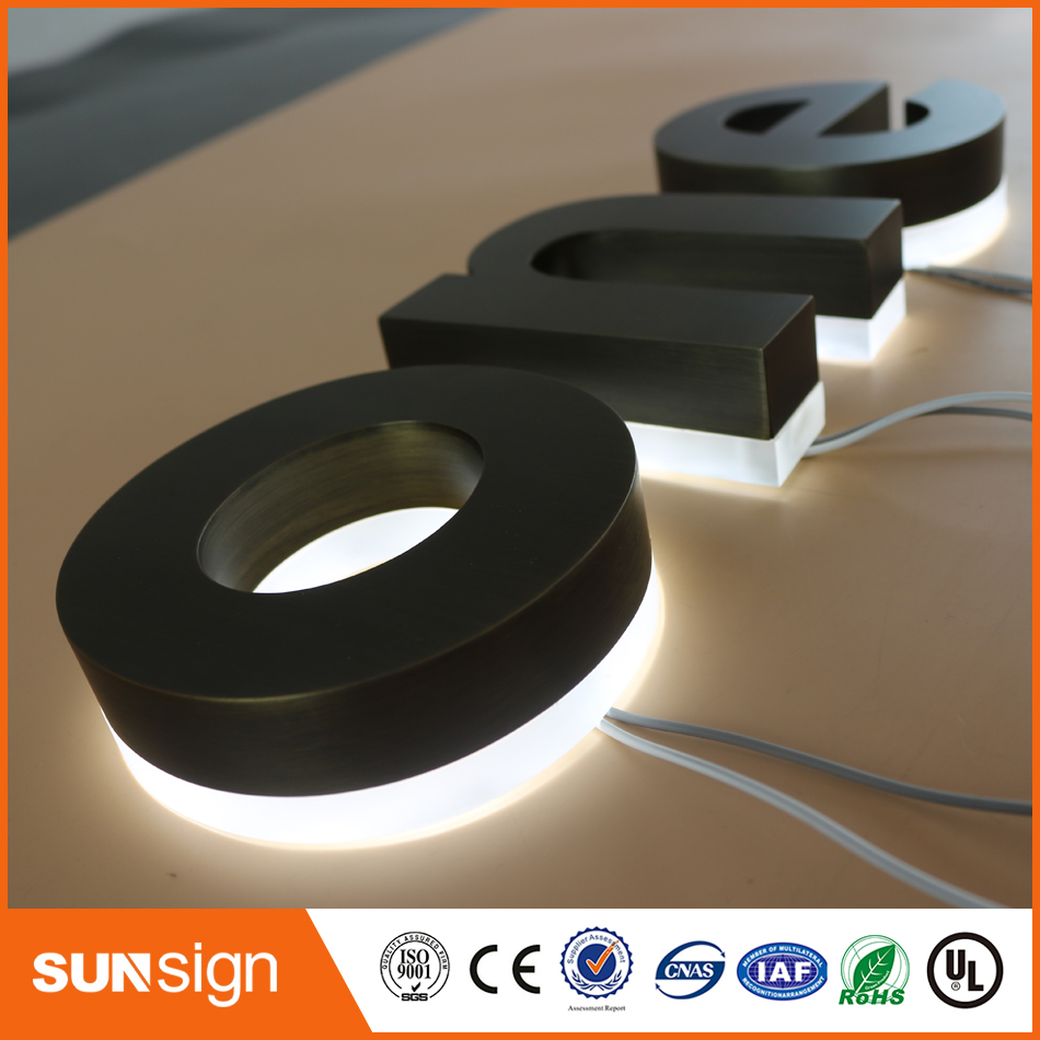 For USA And Canada Market LED Backlit Letters