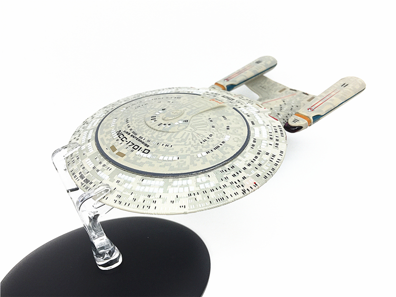 STAR TREK USS Enterprise NCC-1701 #1 Model Spacecraft star trek magazine star ship eaglemoss uss enterprise nx 01 spaceship model 4