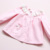 Novo Estilo de Moda Meninas Define Outono Polka Dot Vestido de Algodão Casuais Meninas Roupas Camisa Pant 2017 Conjuntos de Natal Das Crianças