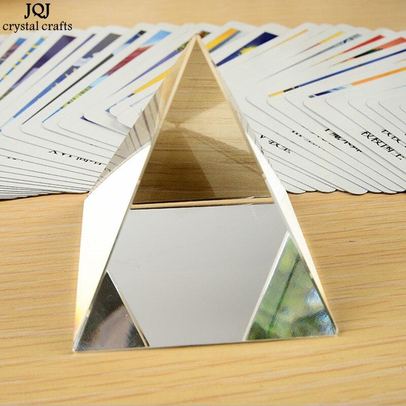 6CM K9 AAA Кварц Кристалл Шыны Пирамида - Үйдің декоры - фото 2