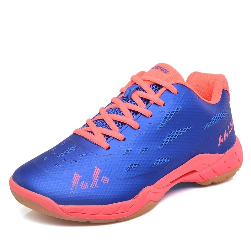 PINSV Badminton Shoes Women Men Sneakers Women S Sneakers Training  Breathable Anti Slippery Light Sneakers Krasovki Men 2017-in Badminton Shoes  from Sports ... 2ef3090a3a