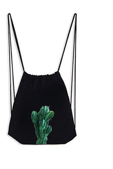 Drawstring Backpack Broccoli Rucksack