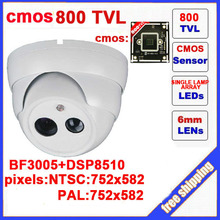 2014 direct selling promotion yes infrared ccd other 800tvl cctv camera dome with ir-cut single lamp array indoor security demo