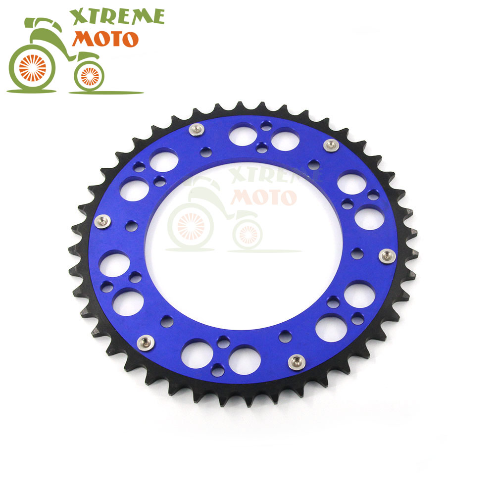 46T CNC Rear Chain Sprocket For Yamaha YZ125 250F 250 400F 426F 450F  WR250F 400F 426F 450F TTR230 Motocross Enduro Dirt Bike car jump starter battery 82800mah portable booster with usb power bank led flashlight for truck automobiles boat hot sale