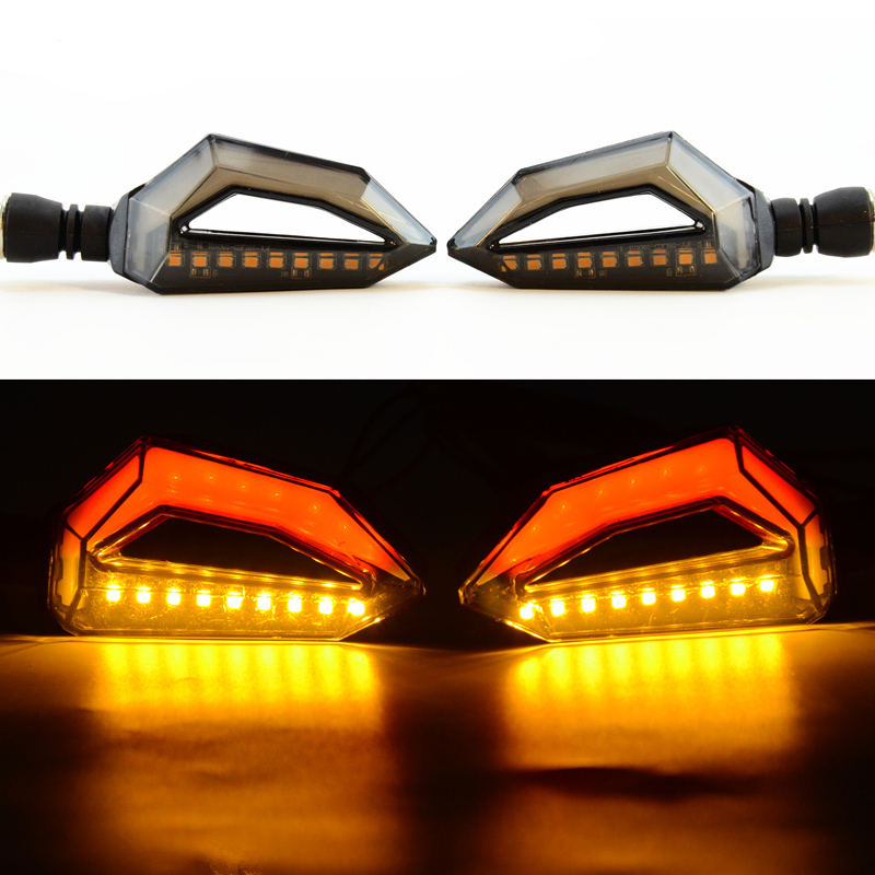 Universal Motorcycle <font><b>LED</b></font> Turn Signal Light with Brake light For Honda CBR 250R 400RR 500R 600RR F2 <font><b>F3</b></font> F4 Yamaha R1 R6 FZ1 FZ6