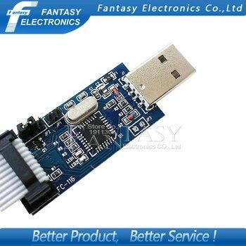 USB ISP программатор для ATMEL AVR ATMega ATTiny 51 AVR, 1 шт., новинка