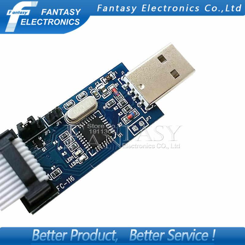 USB ISP программатор для ATMEL, AVR ATMega ATTiny 51, AVR плата ISP, новинка, 1 шт.