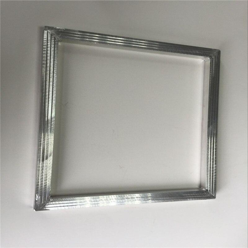 PüNktlich Aluminium Bildschirm Rahmen Für Hand Siebdruck Von Stifte/tassen/flaschen/papier Tassen