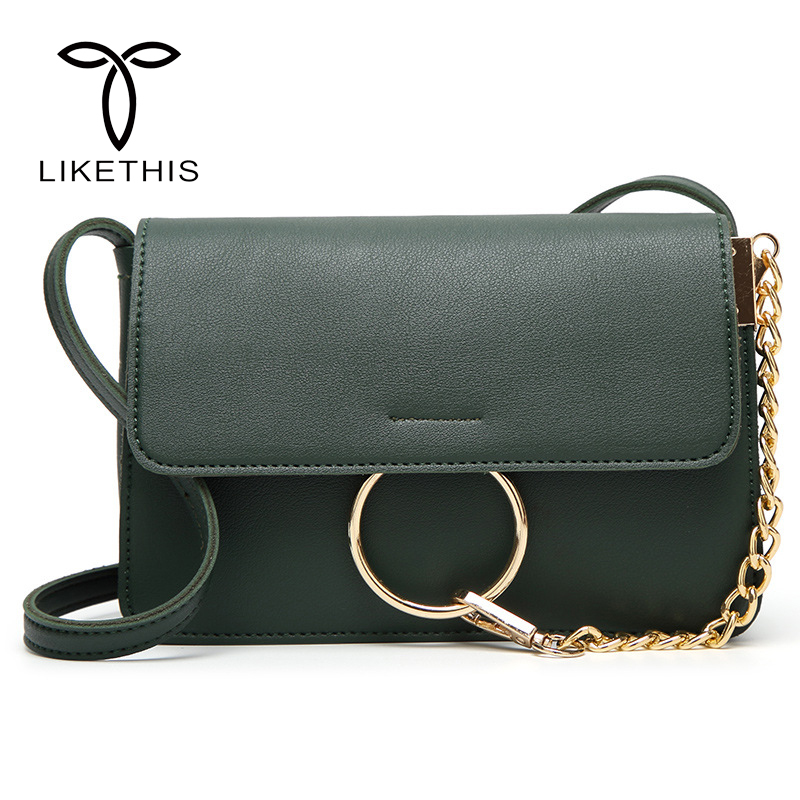 2018 Hot Sale Popular Fashion Brand Design Women PU Leather Cloe Bag High Quality Real Shoulder Bag Chain Oran Bag AS504 popular design birthday party hot sale good price high quality laides shoes and bag