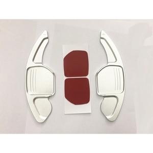 Image 2 - עבור מושב אלהמברה Ateca ליאון MK3 5F FR אלומיניום סגסוגת Shift משוט הגה הארכת שיפטר