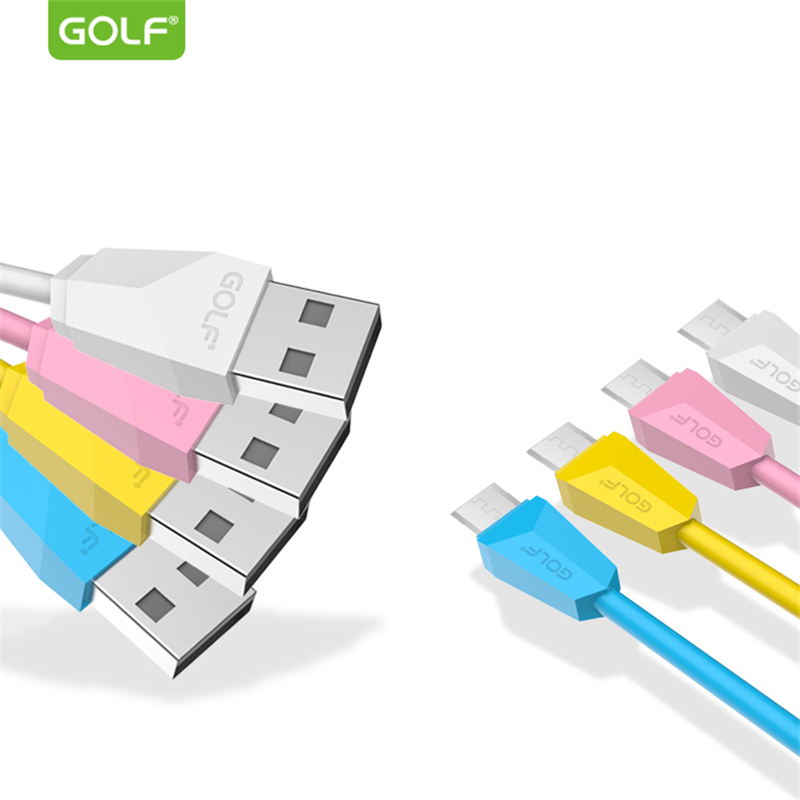GOLF Original Micro USB Data Sync Charging Cable for Huawei P8 Mate8 Samsung S6 S7 LG G3 G4 V10 Android Phone USB Charger Cables
