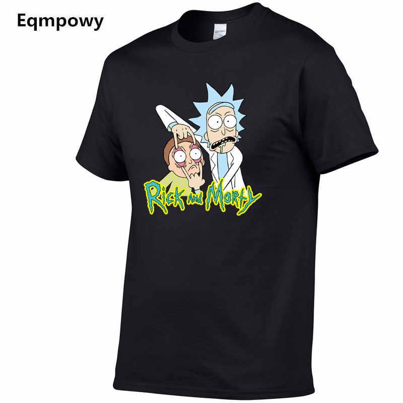 2019 модная мужская футболка в стиле хип-хоп rick and morty Хлопковая мужская футболка Морти и Рик Пикл Рик и Морти футболка одежда