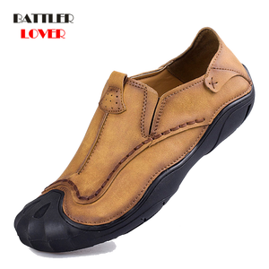 2018 New Genuine Leather Loafe