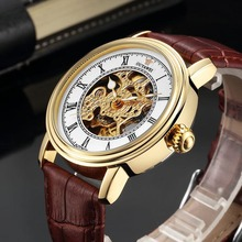 New Skeleton Mens Watches Automatic Mechanical Watch top brand luxury Fashion Clock Men Classic Sport Watch  Relogio Masculino sewor automatic mechanical watch men s top brand luxury men watches military mens sport wristwatch wooden case skeleton clock 65