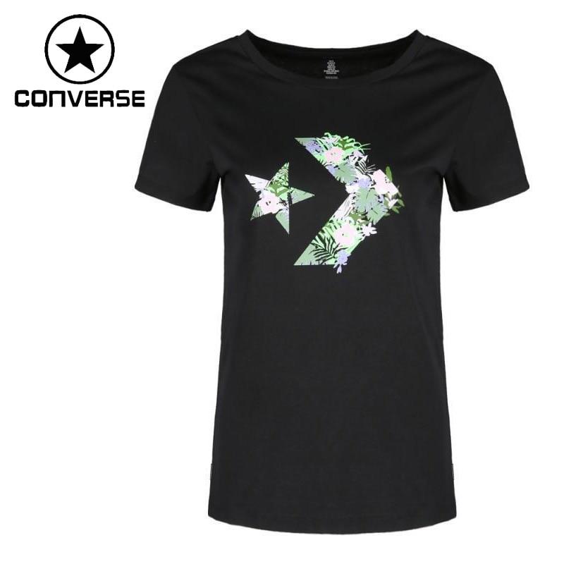 Original New Arrival 2018 Converse Women's T-shirts short sleeve Sportswear converse short tongue