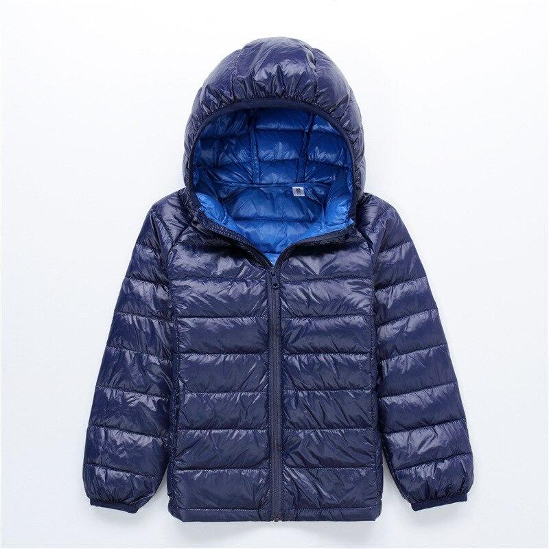 doudoune femme fourrure boys parka children coat kids hooded down jacket girls winter coats doudoune fille - Doudoune Colore