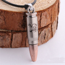 One Piece Necklace Bullet Skull Pendant