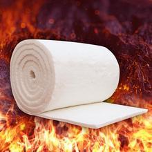 High Temperature Boiler Insulation Aluminum Silicate Needle Ceramic Fiber Insulation Cotton Refractory Fireproof Cotton Blanket все цены