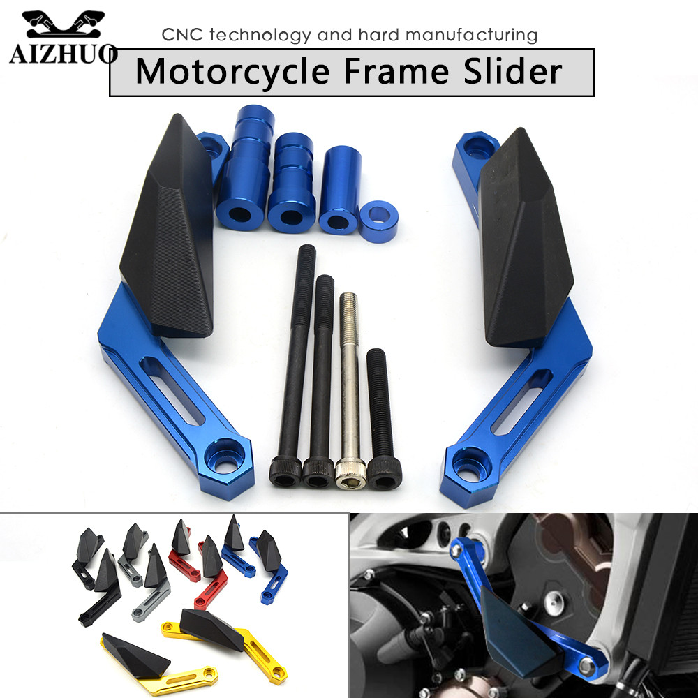 For Yamaha XSR900 2016 FJ-09 MT09 MT-09 2013-2015 TRACER Motorcycle Frame Sliders Crash Pads Protect Motorbike Falling Protector