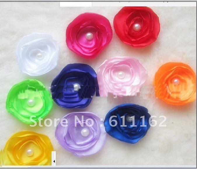 Hottes sale200pcs край zhenzhuhua, головной убор цветок, xionghua, повязка на голову с цветами, шпилька боковой зажим