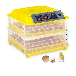 (سفينة من ألمانيا) التلقائي 112 البيض حاضنة الرقمية التحكم في درجة الحرارة حاضنة الدجاج الدواجن تحول هاتشر