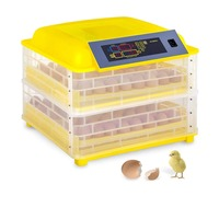 (Ship From Germany) Automatic 112 Eggs Incubator Digital Temperature Control Incubator Chicken Poultry Turning Hatcher