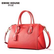 Emini house 2017 neue design crossbody taschen für frauen split leder umhängetaschen luxus frauen classic messenger bag