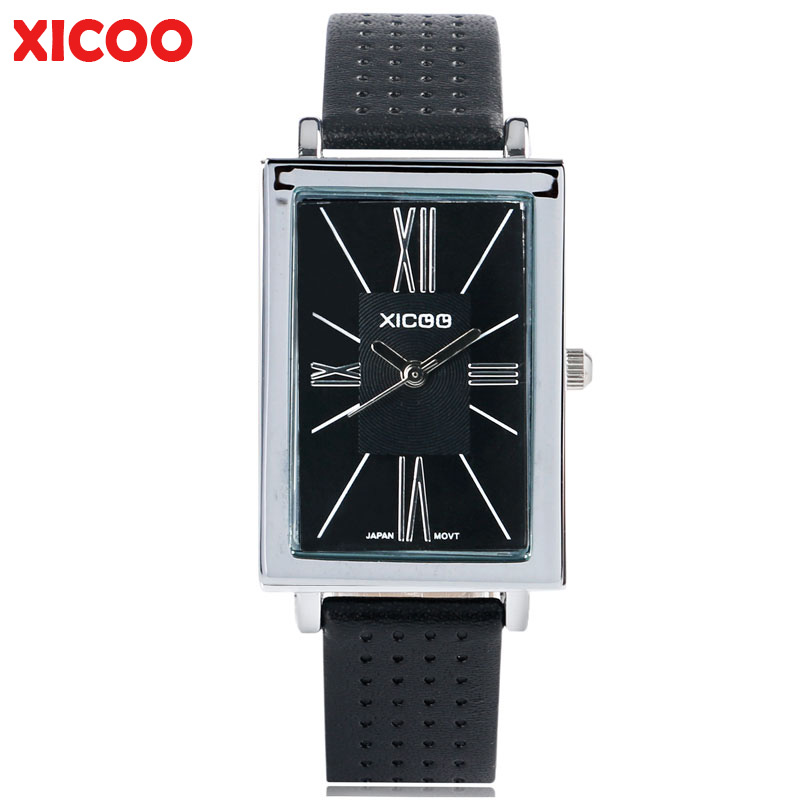 XICOO Watch Women Ladies Brand Famous Female Wristwatch Fashion Rectangle Small Dial Ladies Quartz Stylish Elegant Clock Gifts
