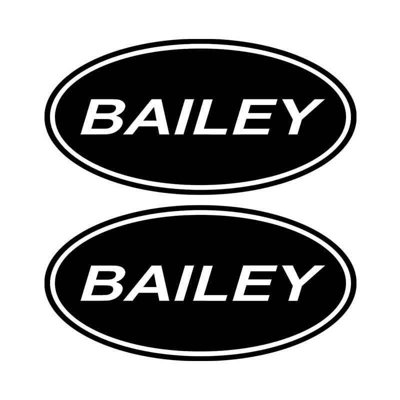 HotMeiNi 2 X Bailey ovale caravane camping-Car voiture vinyle autocollant graphique décalcomanie tout le corps mots voiture carrosserie autocollants