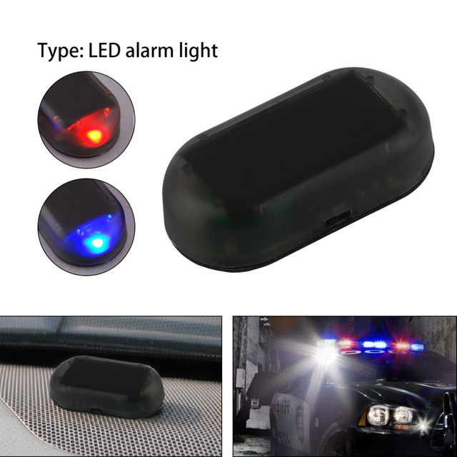 Useful 1 pcs 12v car anti theft alarm with blinking flash warning useful 1 pcs 12v car anti theft alarm with blinking flash warning lamp security system aloadofball Choice Image