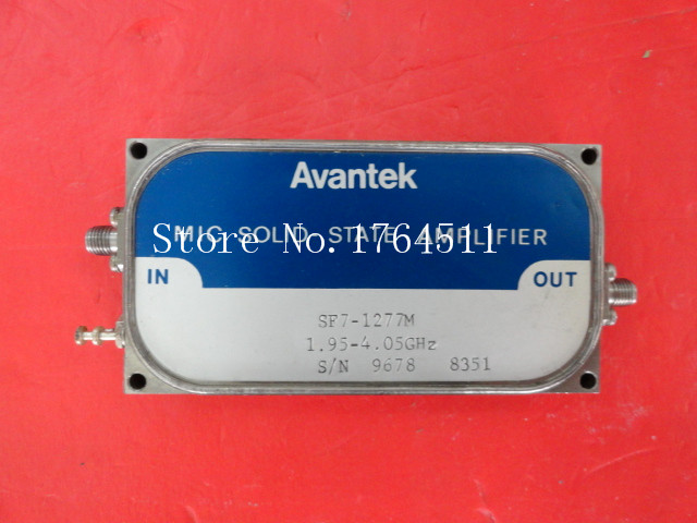 [BELLA] AVANTEK SF7-1277M 1.95-4.05GHz 15V SMA RF Amplifier