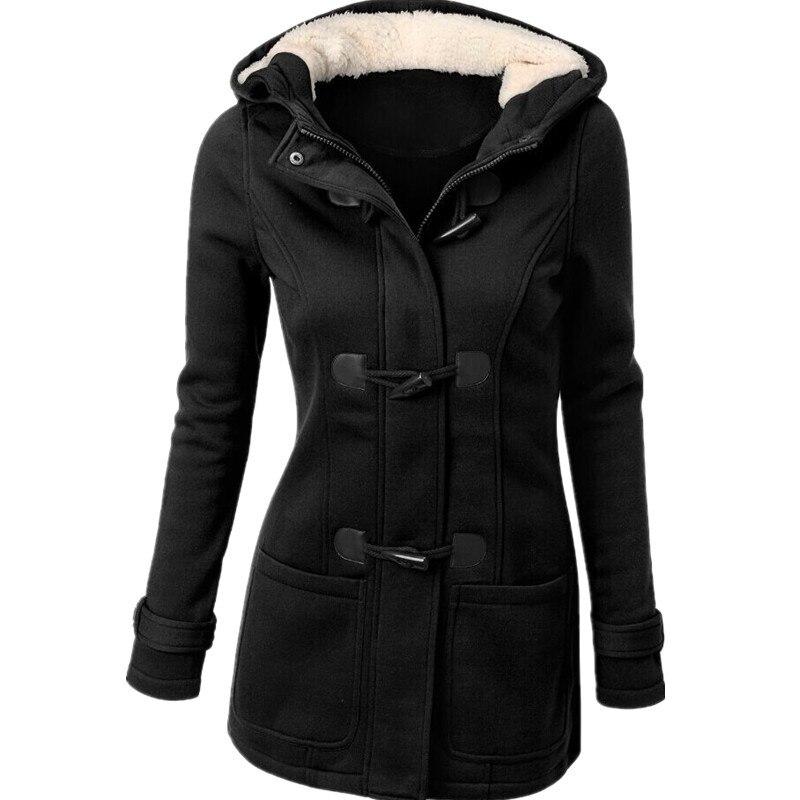 Popular Black Wool Pea Coat Womens-Buy Cheap Black Wool Pea Coat ...